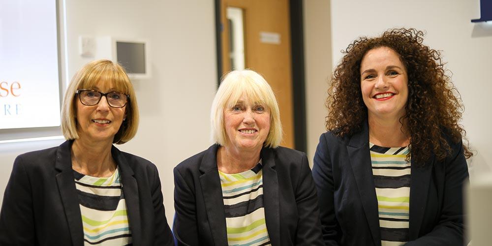 three receptionists